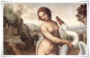 Léda és a hattyú - Leonardo da Vinci